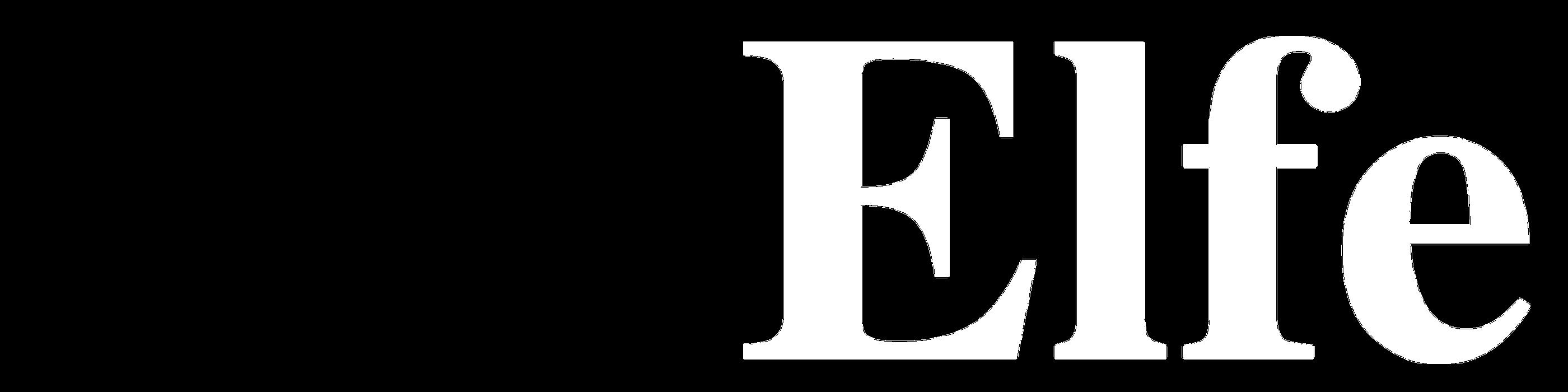 Schriftzug ELFE W